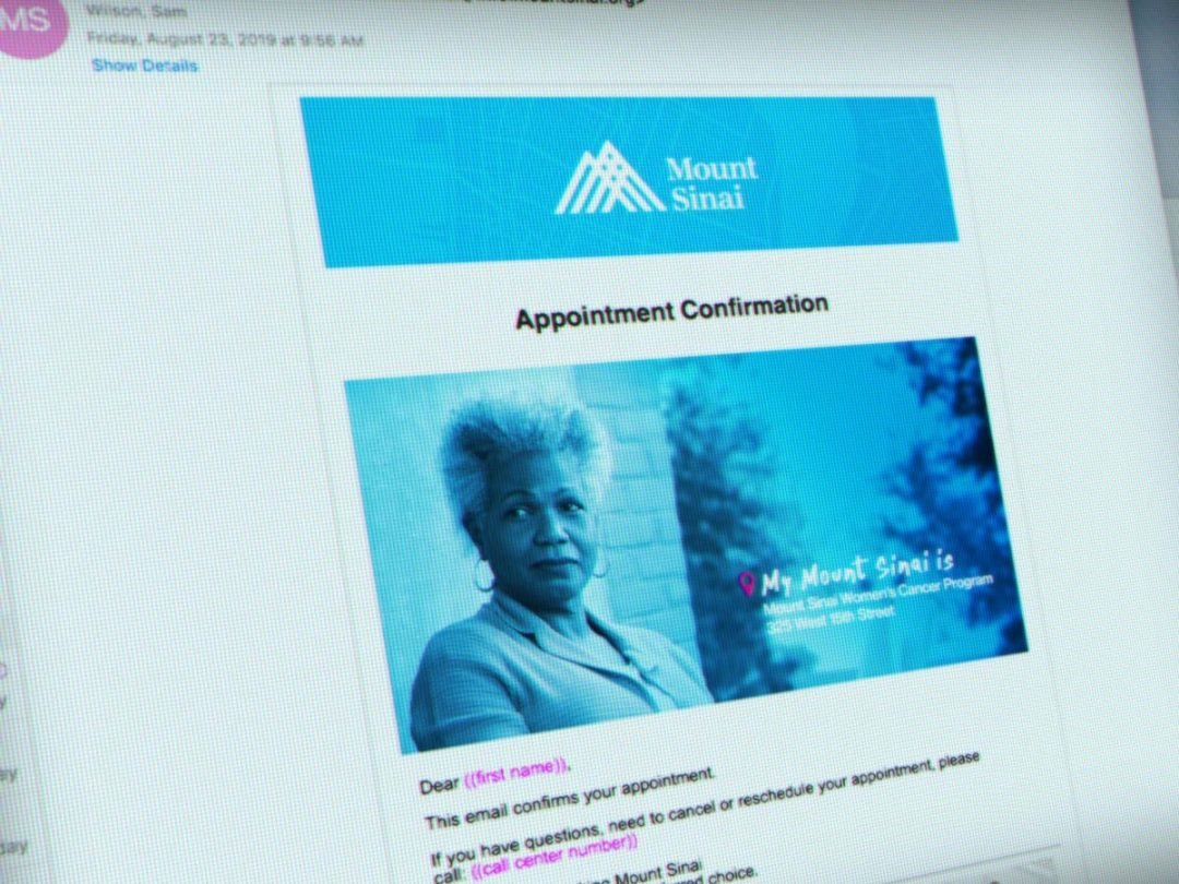 Email for Mount Sinai Health System